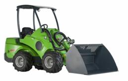 Machine verhuur en machineverhuur - AVANT 640 met bak