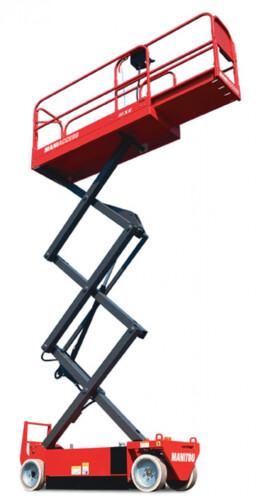 schaarlift hoogtewerker manitou